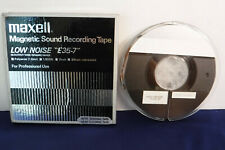 """7"""" Plastic Maxell Reel To Reel tape, USED- Radio Programs 10.See photos for list"""