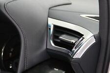 Chrome A/C Cover Garnish for Toyota Alphard Vellfire 3rd Gen Interior