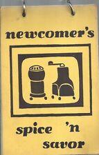 ROCHESTER MI 1974 NEWCOMERS CLUB SPICE N SAVOR COOK BOOK MICHIGAN COMMUITY RARE