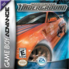 Need for Speed: Underground GBA New Game Boy Advance
