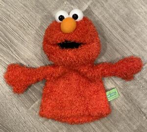 """GUND 12"""" 2003 Sesame Street Elmo Hand Puppet VERY CLEAN"""