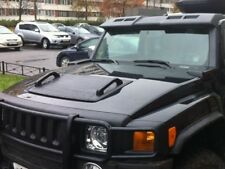 Handles on the hood for hummer h3