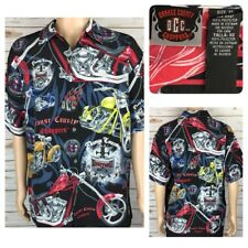 Orange County Choppers Motorcycle Graphic Men's Short Sleeve Shirt Size XL