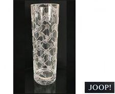 JOOP! 06602110 KRISTALLVASE VASE BLUMENVASE ALLOVER RUND  30  X 10 CM