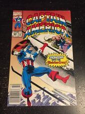 Captain America#409 Incredible Condition 9.0(1992) Skeleton Crew Battle App!!