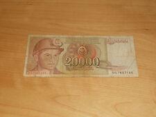 Banknote Jugoslawien 20000 Dinar 1987