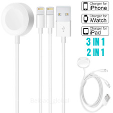 For Apple Watch iWatch Series 1 2 3 4 Charger Cable USB Magnetic Charging Dock