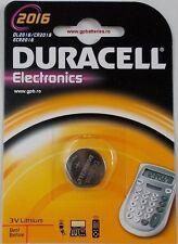 Pilas/Batería botón litio Duracell CR2032/CR2025/CR2016, Gratis Shipping