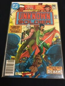 Unknown Soldier #255 Ayers Simonson Joe Kubert Very Fine VF (8.0) DC Comics 1981