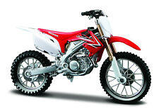 Honda Crf 450 R Red-White Motorcycle Model 1:18 From Maisto