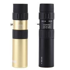 Compact Black 10X-90X Monocular Telescope Handy Scope for Sports Camping Hunting