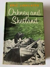 Orkney and Shetland by Eric Linklater | 1st Ed. Hardcover with Dust Jacket VGC
