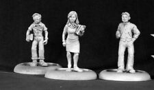 Reaper Miniatures - 50090 - Townsfolk: Jock, Chick, Nerd - Chronoscope