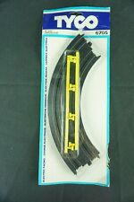 "TYCO Electric Racing Quik-Clik Track Two 9"" Radius Curve 1978 #6705"