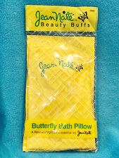VINTAGE JEAN NATE BUTTERFLY BATH PILLOW - NEW IN PACKAGE