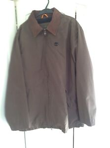 Timberland Weathergear Waterproof Coat in excellent condition.Brown, size XL.