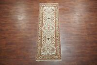 "3X8 Oushak Wool Runner Hand-Knotted & Vegetable Dyed Area Rug Carpet (2'7"" x 8')"