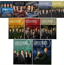 LAW and ORDER CRIMINAL INTENT Season 1-10 Complete Series