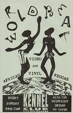 DOUG WENDT WorldBeat Video & Vinyl MIDNIGHT DREAD orig KENNEL CLUB SUN 1988 S.F.