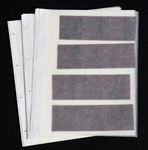 100 Pergamin Negativhüllen für Mittelformat / Negativhuellen für 120er Rollfilm