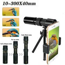 4K 10-300X40mm Super Telephoto Zoom Monocular Telescope Binocular Night Vision