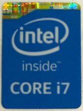 Originale Intel Core i7 Interno Custodia Distintivo Adesivo (4th Generazione)