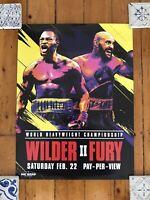 "Wilder Vs. Fury 2 Heavyweight Championship Boxing Promo Poster 24""x 18"""