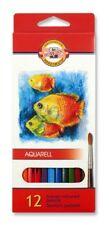 KOH-I-NOOR SCHOOL COLOURED PENCILS - Pack of 12 Assorted Colour Pencils