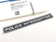 Ford Crown Victoria Police Interceptor Emblem new OEM XW7Z-5442528-AC
