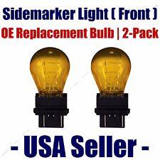 Sidemarker (Front) Light Bulb 2pk - Fits Listed Dodge Vehicles - 3157A& 00006000 nbsp;(Fits: Neon)