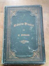 Moderne Wunder Zauberbuch  Carl Willmann 1886 mit Orden der Gut Templer Stempel