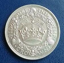 1928 Wreath Crown Coin Good Extra Fine King George V Scarce Item