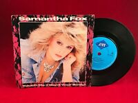 """SAMANTHA FOX Touch Me (I Want Your Body) 1986 UK 7"""" Vinyl  EXCELLENT CONDITION"""