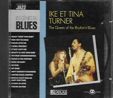 CD album: Compilation: Ike et Tina Turner. The Queen of the Rhythm. Atlas . X
