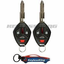 2 Replacement for 2007-2012 Mitsubishi Eclipse Key Fob Keyless Entry Car Remote