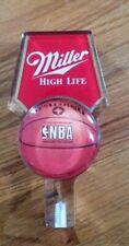 Miller High Life lucite Nba basketball tap handle