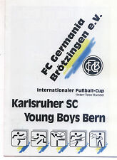 IFC 23.07.1994 Karlsruher SC-Young Boys Bern, Intertoto Cup in Brötzingen