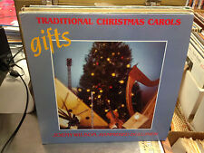 Joemy Wilson GIFTS Traditional Christmas Carols vinyl LP 1985 w/INSERT