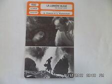 CARTE FICHE CINEMA 1932 LA LUMIERE BLEUE Leni Riefenstahl Mathias Wieman
