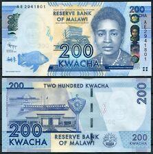 MALAWI 200 kwacha 2012 Pick 60  SC /  UNC