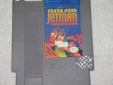SOLAR JETMAN NES NINTENDO ENTERTAINMENT SYSTEM GAME VG GOOD SHAPE & TESTED