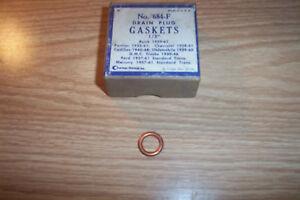 NORS PONTIAC,CHEVROLET,CADILLAC,OLDS,GMC,FORD,MERCURY 1928-61 OIL PLUG GASKET