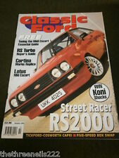 CLASSIC FORD - STREET RACER RS2000 - OCT 1999