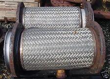 "Stainless Steel Braided Flex Connector 34"" x 14"""
