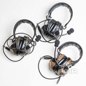 FMA ComTac 3 ACH C3 Noise Canceling Communication Headphone Earphone