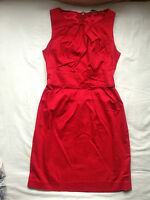 New Look size 8 dress red mini Xmas party formal wedding smart cocktail bright