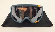 Native Eyewear Coldfront Teal Roth Ski/Snowboard Goggles w/Bronze Lens NEW LOOK