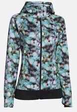 UNDER ARMOUR Women's Zenith Full Zip Infrared Hoodie Jacket 1246822 NEW LARGE