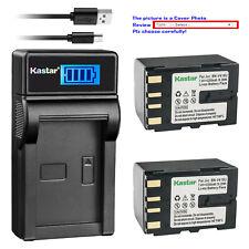 Kastar Battery Lcd Usb Charger for Bn-V416 & Jvc Gr-Dva10 Gr-Dva11 Gr-Dv 00003145 A20