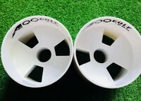 Pack of 2 A99 Golf Green Hole Cup Plastic Practice Aids Putting Putter